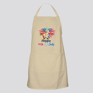 Happy-4th-Fireworks Apron