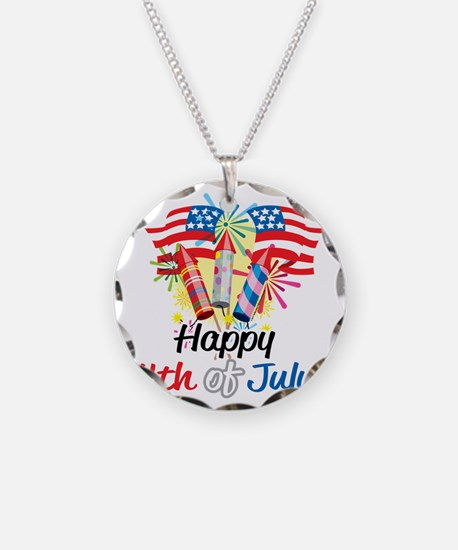 Happy-4th-Fireworks Necklace