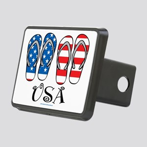 USA-Flip-Flops Rectangular Hitch Cover