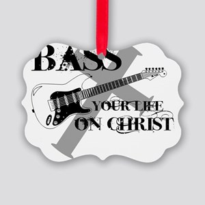 bass your life Picture Ornament