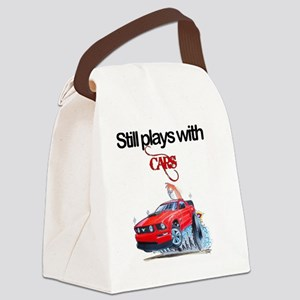 StillPlaysWithCars Canvas Lunch Bag