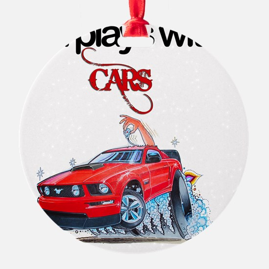 StillPlaysWithCars Ornament