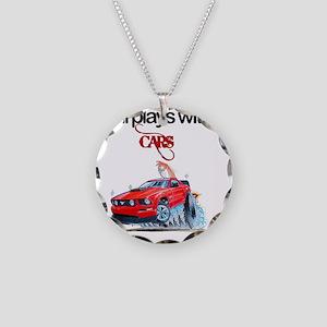 StillPlaysWithCars Necklace Circle Charm