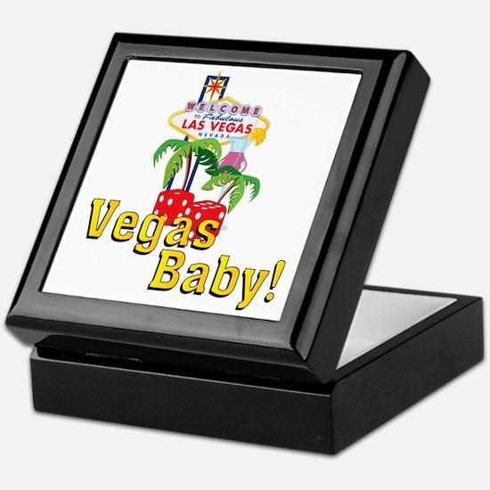 vegas baby final Keepsake Box