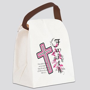 faith 2 Canvas Lunch Bag