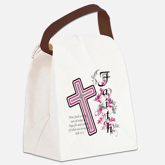 faith 2 Canvas Lunch Bag
