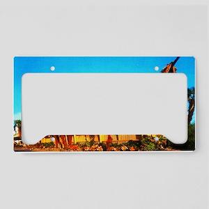 BaliHaiPostcardFinal License Plate Holder