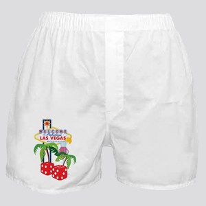 vegas graphic Boxer Shorts