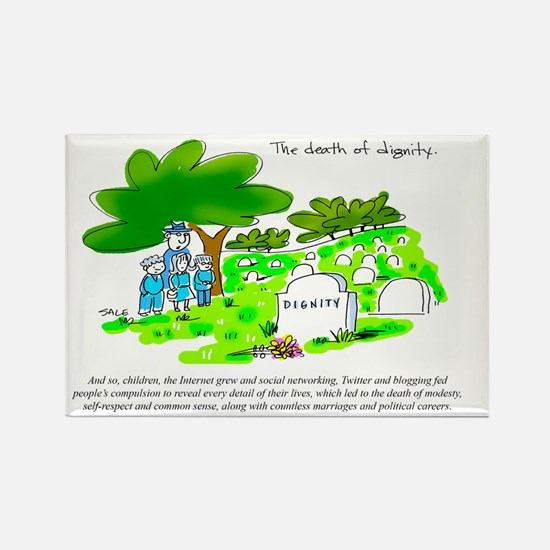 Death of Dignity_Online Rectangle Magnet