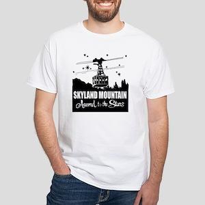 sklndmt_Tdesign White T-Shirt