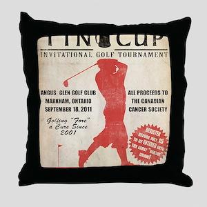 TC Vintage Poster4 Throw Pillow