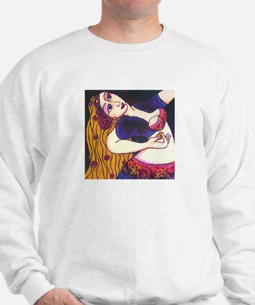 Back Bend Belly Dancer Sweatshirt
