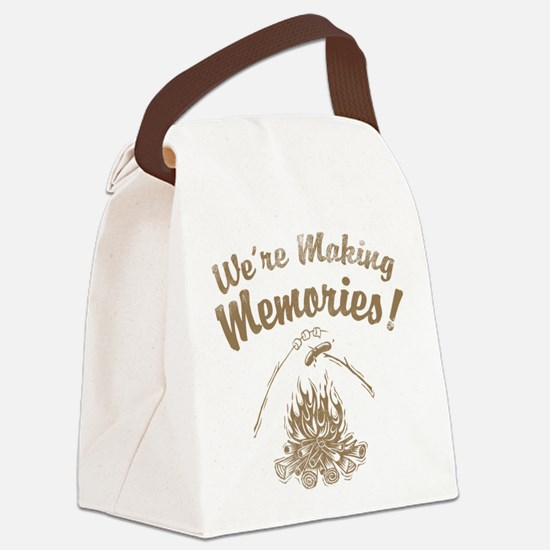 Front Large Canvas Lunch Bag