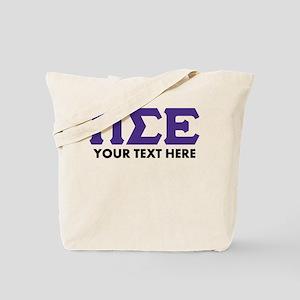 Pi Sigma Epsilon Personalized Tote Bag