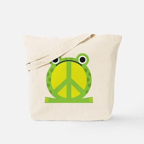 PeaceFrog Tote Bag