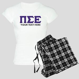 Pi Sigma Epsilon Personaliz Women's Light Pajamas