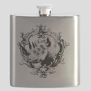 Rhino Chimera Ornate Flask