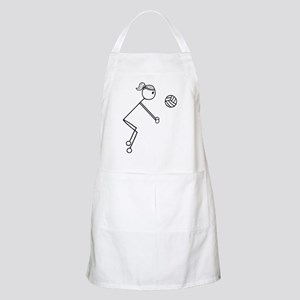 Volleyball girl clear1 Apron