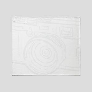 X100_white Throw Blanket