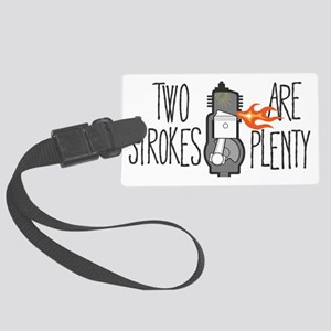 two-strokes-handy Large Luggage Tag