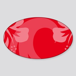 RedLP Sticker (Oval)