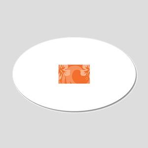 OrangeLP 20x12 Oval Wall Decal