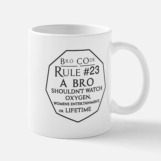 Bro Code Rule 23 Mugs