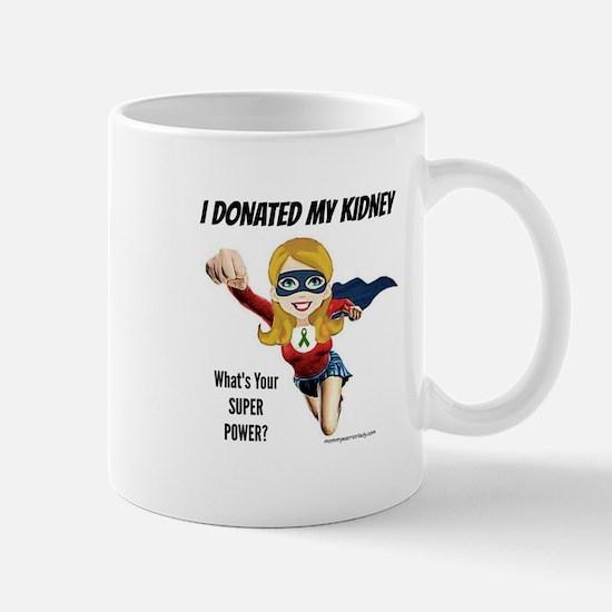 Kidney Donation Mommy Warrior Mug Mugs
