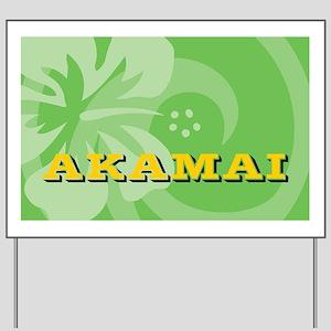 Akamai38 Yard Sign