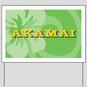 Akamai38O Yard Sign