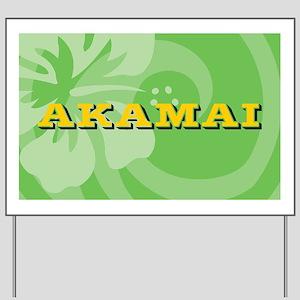 Akamai22o Yard Sign