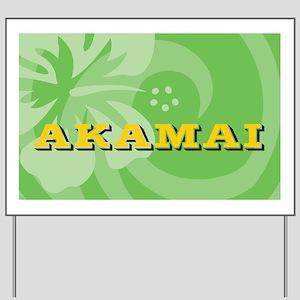 Akamai22 Yard Sign
