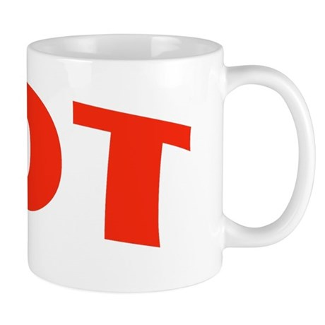 HOT RED Mug
