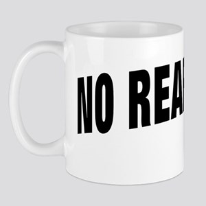 NO ENTRY BLACK Mug