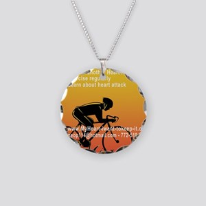 $_Biker2 Necklace Circle Charm