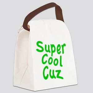 Super Cool Cuz Canvas Lunch Bag