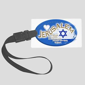 Jerusalem Large Luggage Tag