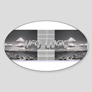 UFO Logic Sticker