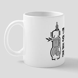 two-strokes-tech-blacktype_darkbg Mug