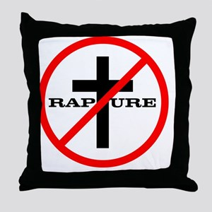 01 no rapture Throw Pillow