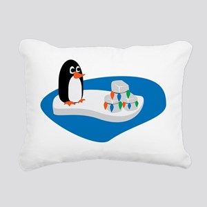 penguin-14 Rectangular Canvas Pillow