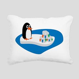 penguin-14 Rectangular Canvas Pillow