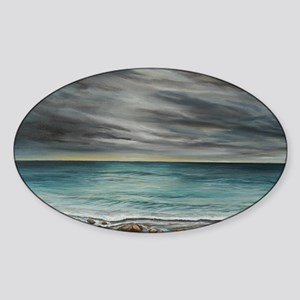 RockyBeach Sticker (Oval)