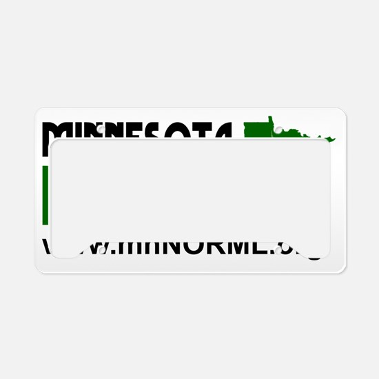 MN NORML Logo final License Plate Holder