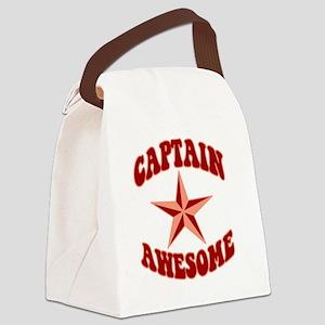 capawsome-dark-t Canvas Lunch Bag