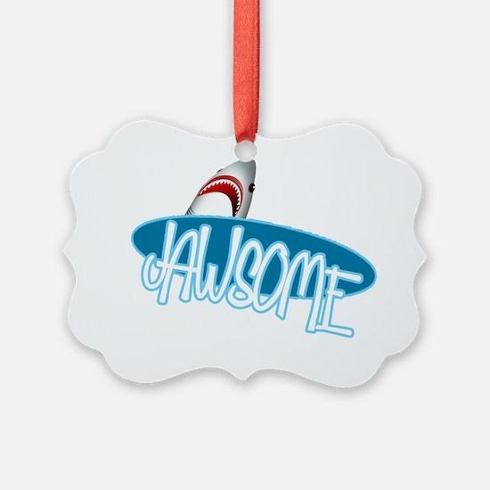 jawsome-shark Ornament