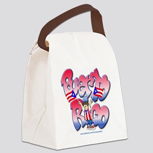 PuertoRicoGraffiti FINAL-teeshirt Canvas Lunch Bag