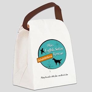 OESR50sLogoFinal Canvas Lunch Bag