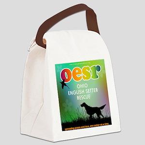 OESR60sLogoFinal Canvas Lunch Bag