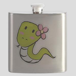 10x10_sneakysnake Flask